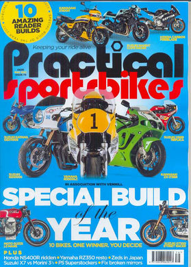Practical Sportsbikes Subscription - 1 year/12 issues