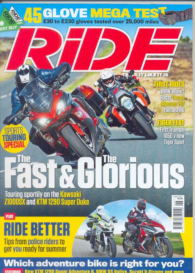 Ride Subscription - 1 year/12 issues
