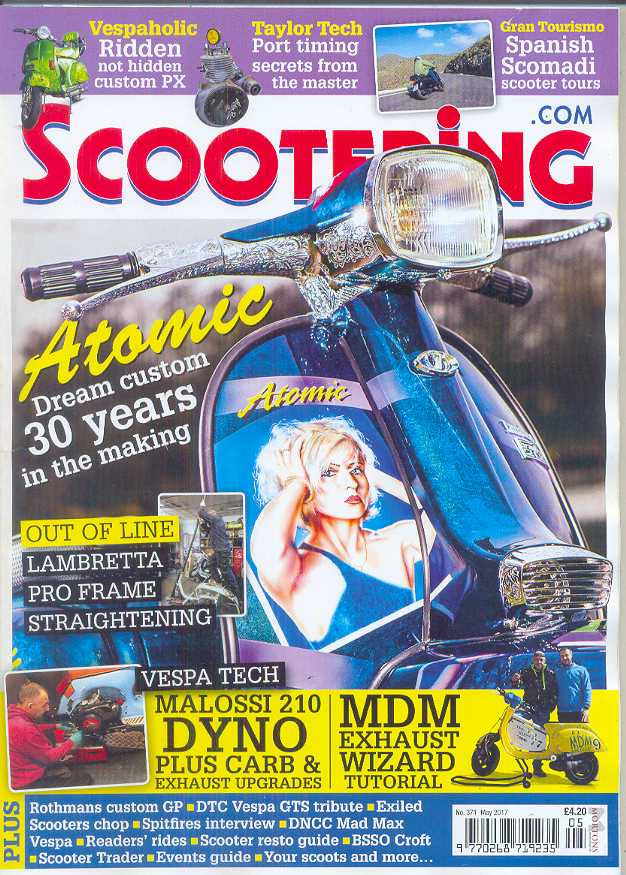 Scootering Subscription - 1 year/12 issues