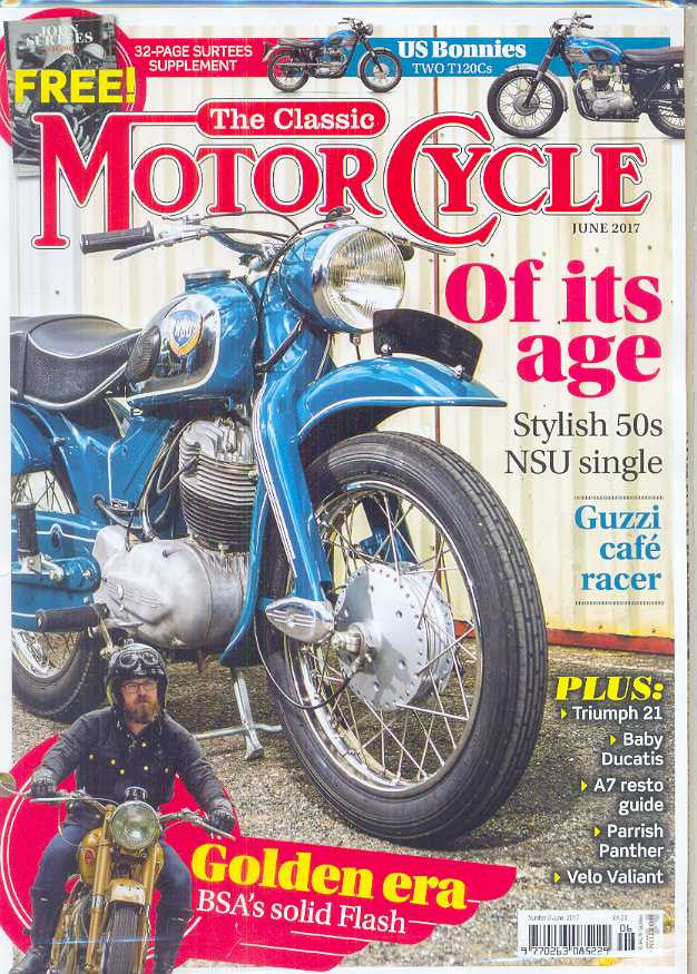 .The Classic Motorcycle Subscription - 1 year/12 issues