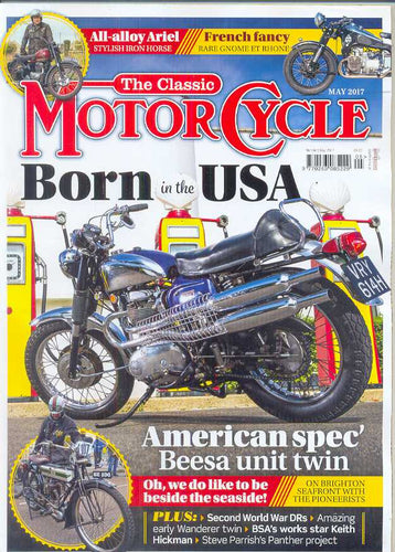 TCM201705 The Classic Motorcycle May 2017