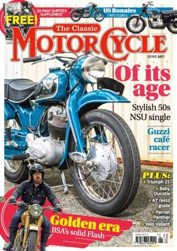 TCM201706 The Classic Motorcycle June 2017