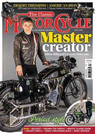 TCM202004 The Classic Motorcycle April 2020 - latest issue