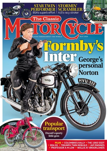 TCM202005 The Classic Motorcycle May 2020 - latest issue