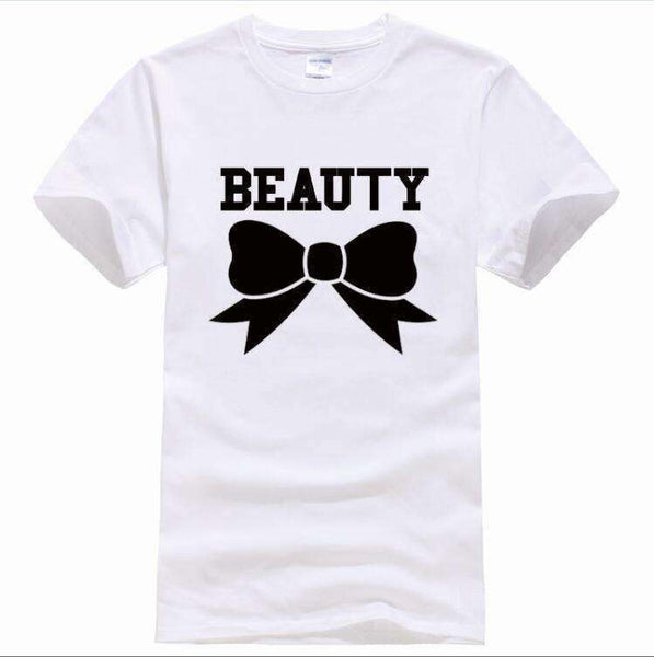 GGotta's  New Beauty and the Beast couple T- shirt for him and her