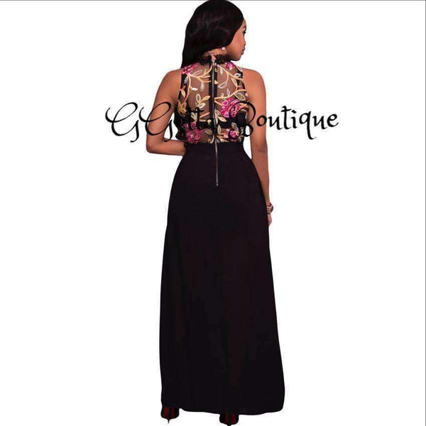 GGotta Kelly Floral Maxi Dress