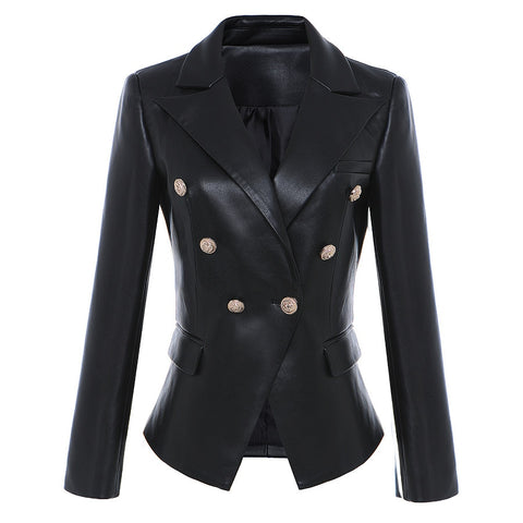GGotta's Bossy Leather Blazer S-3XL