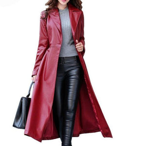 GGotta's CashFlow Leather Trench Coat