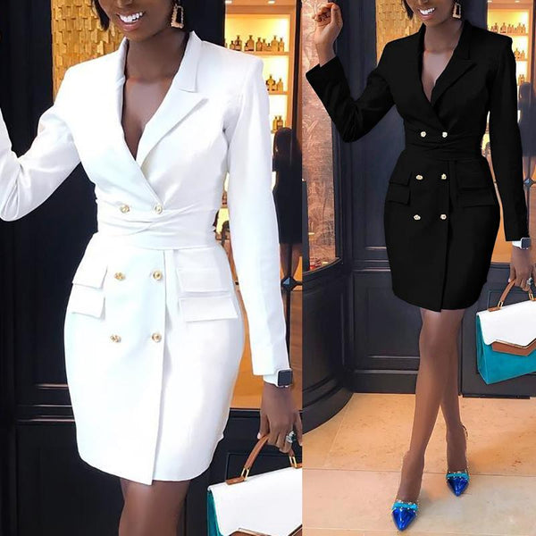 GGotta's Close the Deal Blazer Dress