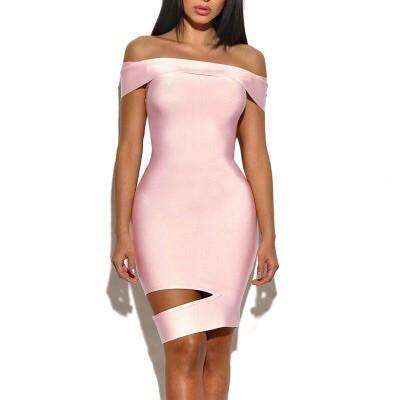 GGotta's Pink Beauty bandage Dress