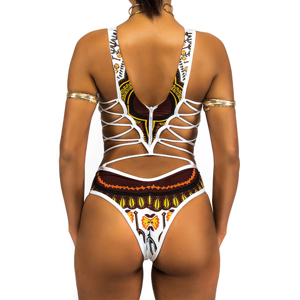 GGotta's Tribal Smile Swimsuit