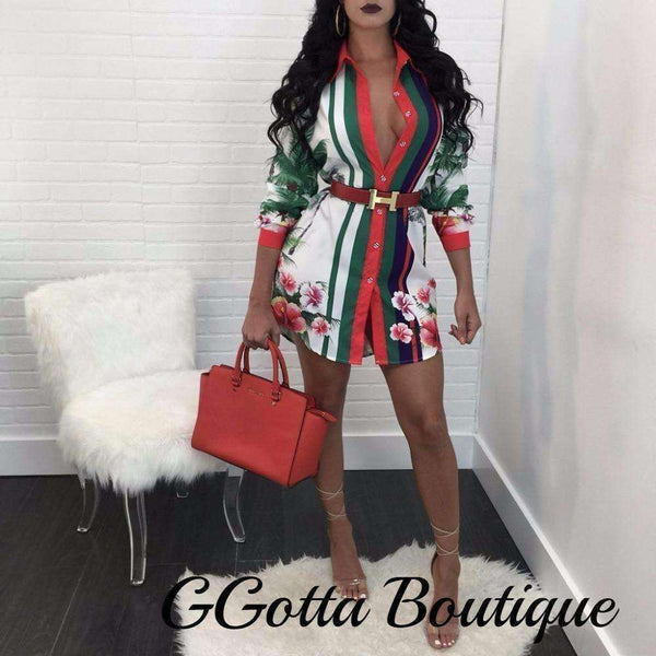 GGotta's Sexy Long dress Blouse