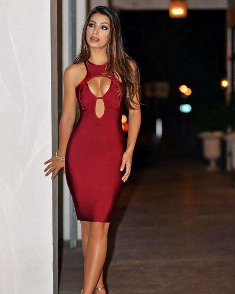 GGotta's Lamik Bandage Dress