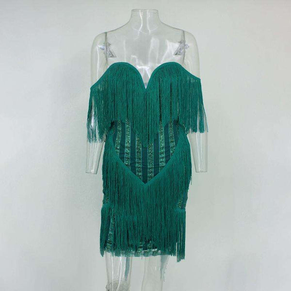 GGotta's Sasha Tassel Dress