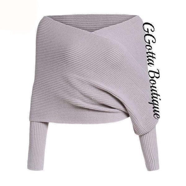 GGotta's Wrap sweater