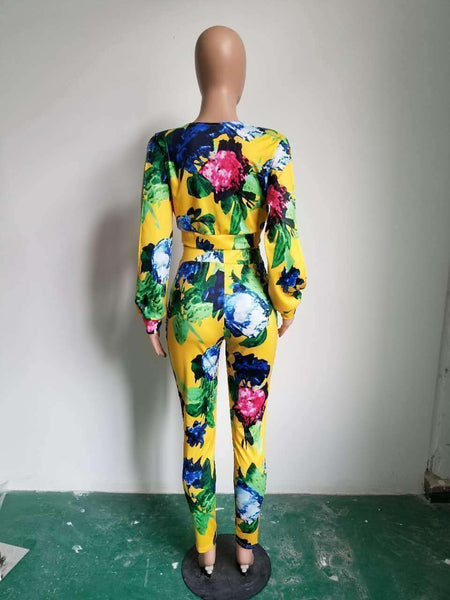 GGotta's Top quality high design print two piece set