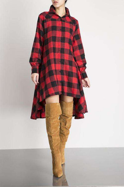 GGotta's Urugauy Flannel Dress