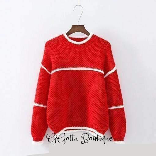 GGotta's Casual Sweaters Women Knitted Pullover Sweater*