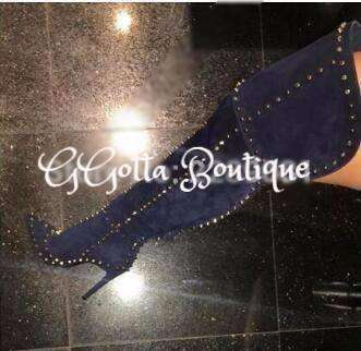 "GGotta Boutique suede baddies ""Boots"""