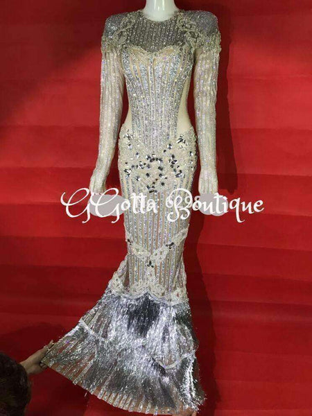 Luxurious Long Designer gown