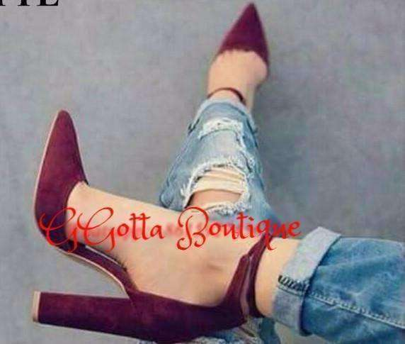 GGotta Boutique New  Pointed Toe Pumps