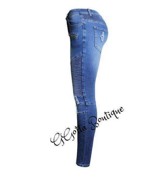 GGotta Boutique's  Stretch Skinny Jeans Woman High Waist Jeans
