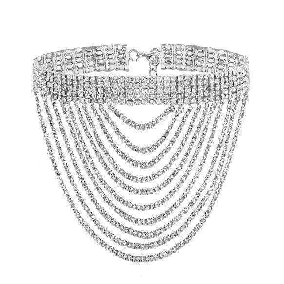 GGotta's Tassel Choker Necklace
