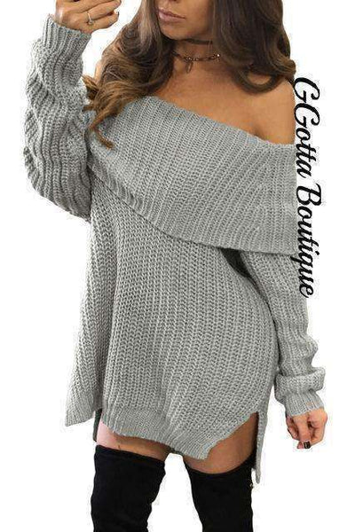 GGotta's Tika Sweater Dress