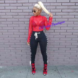 GGotta's C-Doll Tie up Pants