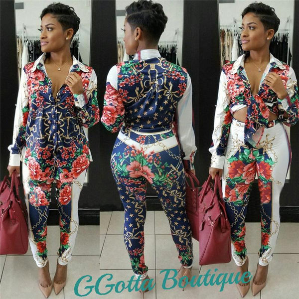 GGotta's Angela Two piece Set