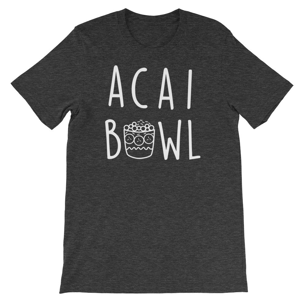 Acai Bowl: Dark Grey Heather Men's T-Shirt