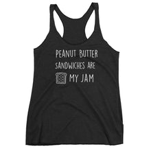 Peanut Butter Sandwiches Are My Jam: Black Ladies Tank Top