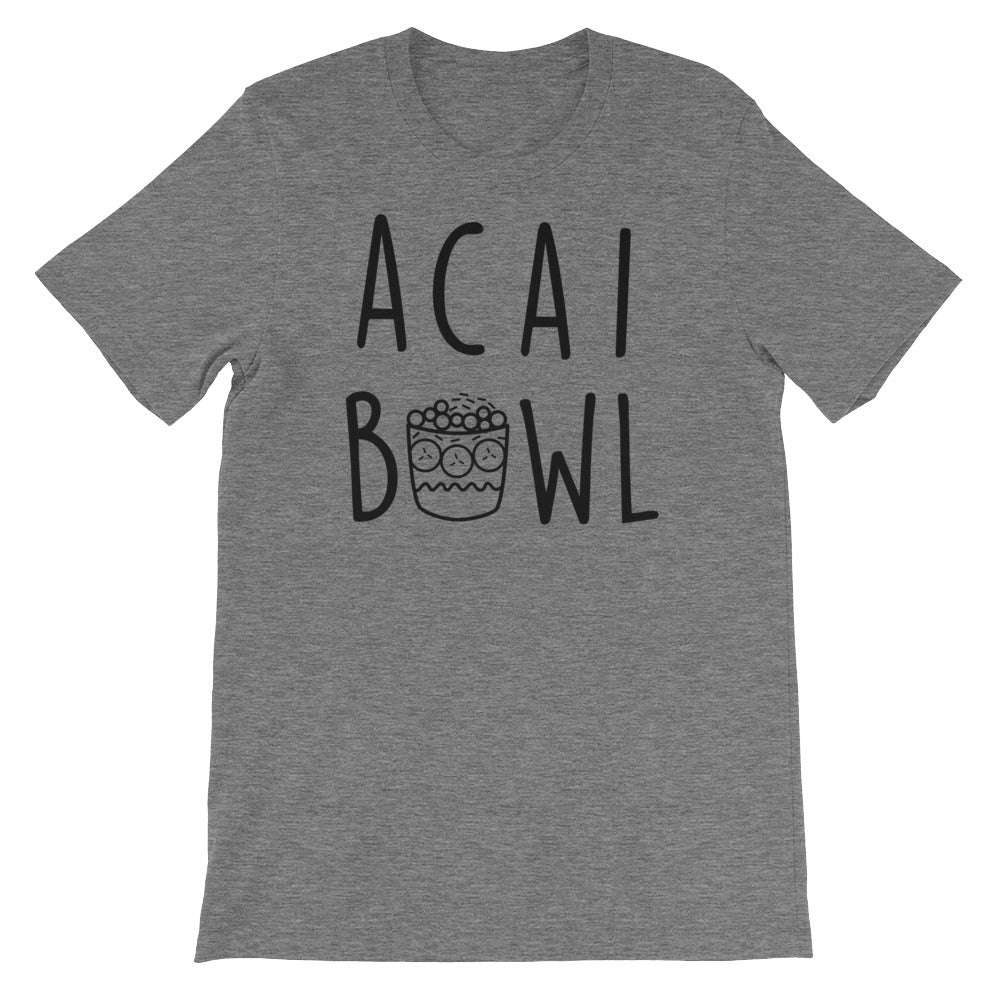 Acai Bowl: Deep Heather Grey Men's T-Shirt