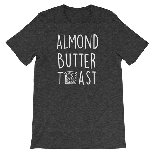 Almond Butter Toast: Dark Grey Heather Men's T-Shirt