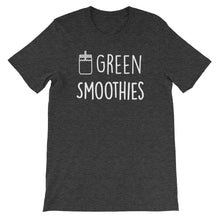 Green Smoothies: Dark Grey Heather Men's T-Shirt