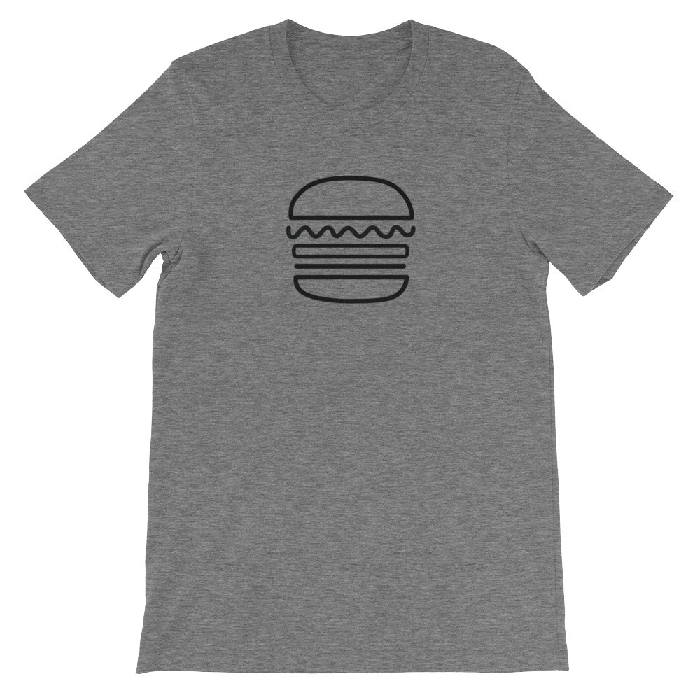 Burger: Deep Heather Men's T-Shirt