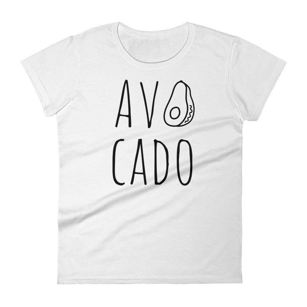 Avocado: White Ladies T-Shirt
