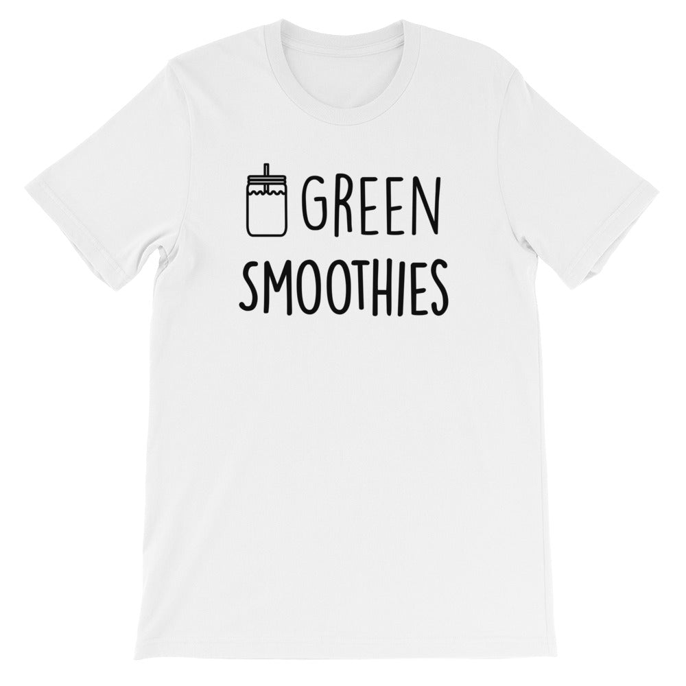 Green Smoothies: White Men's T-Shirt