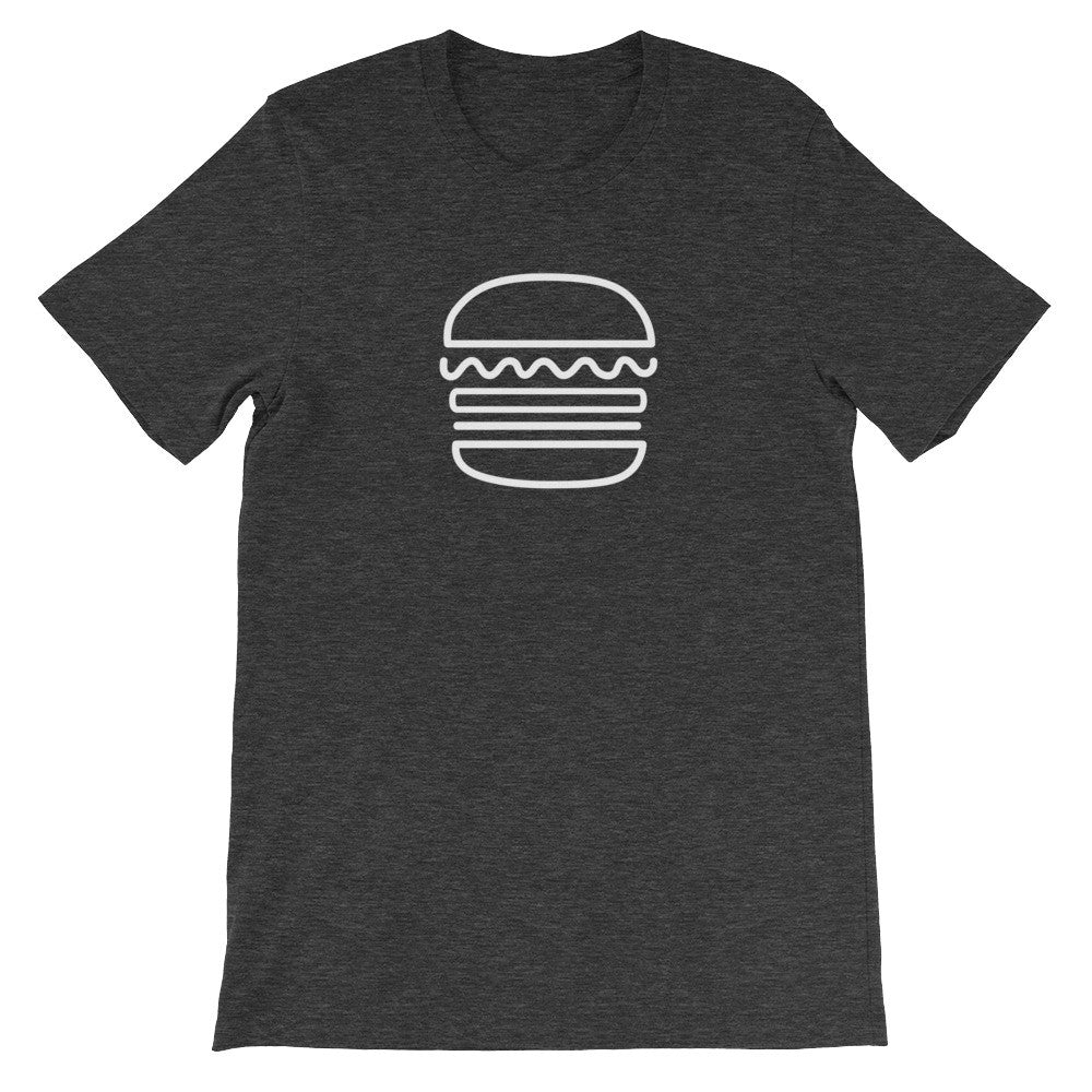Burger: Dark Grey Heather Men's T-Shirt