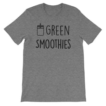 Green Smoothies: Deep Heather Grey Men's T-Shirt