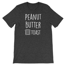 Peanut Butter Toast: Dark Grey Heather Men's T-Shirt