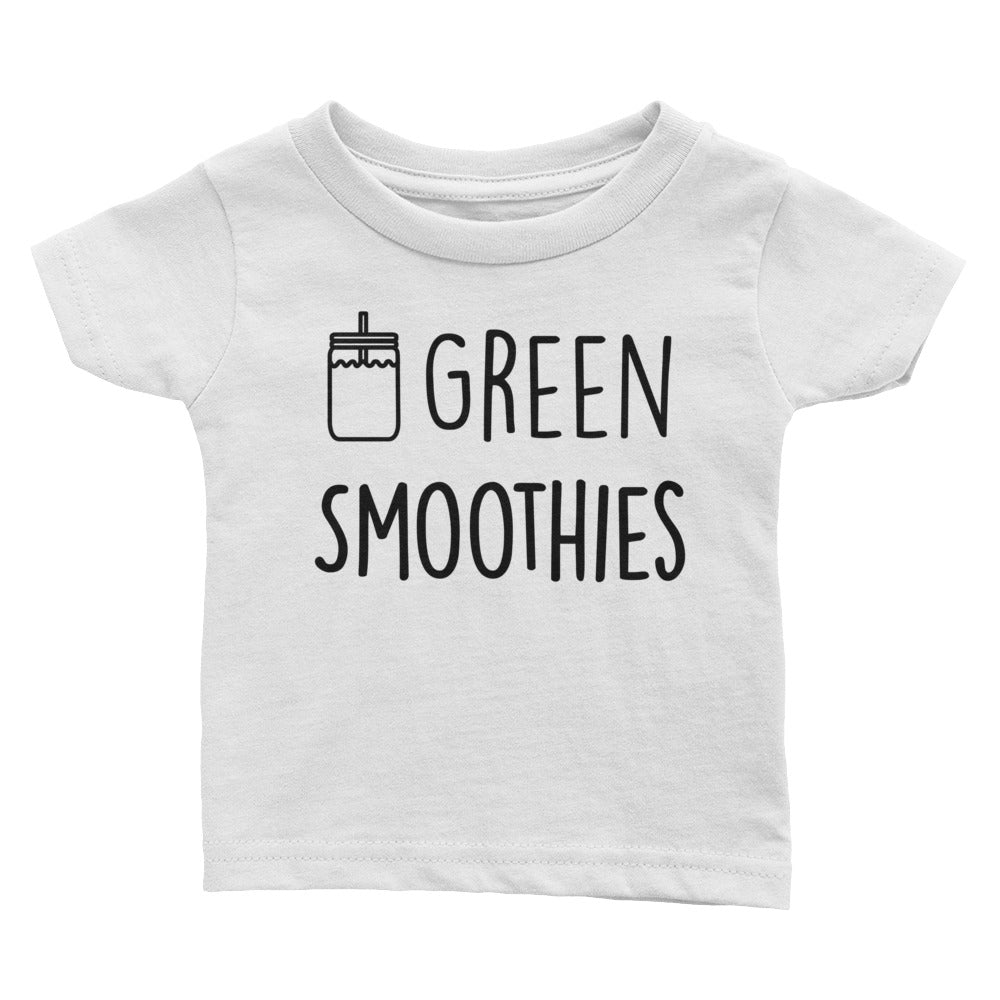 Green Smoothies - Kids Infant Tee White