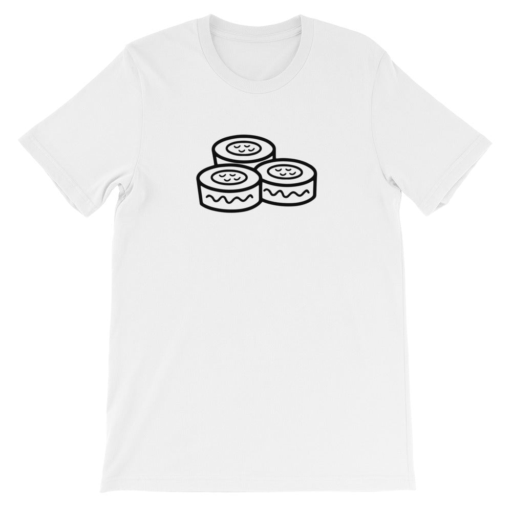 Sushi Roll: White Men's T-Shirt
