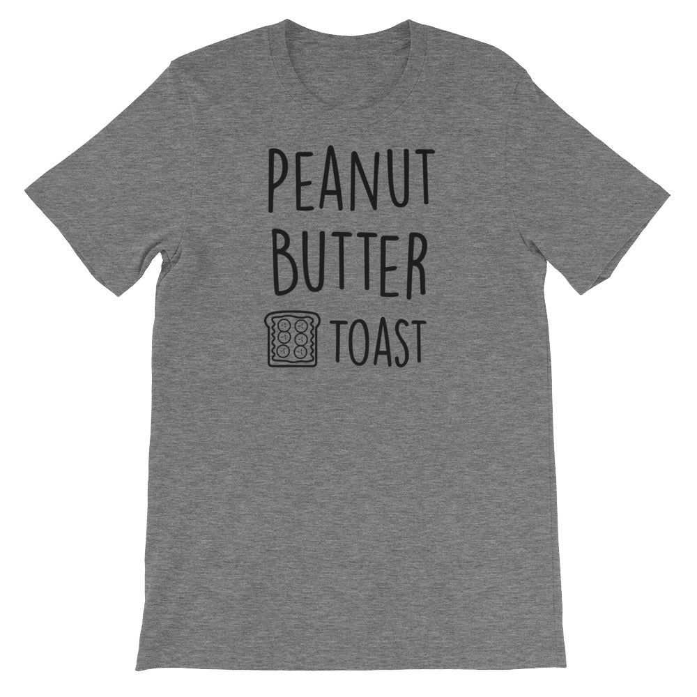 Peanut Butter Toast: Deep Heather Grey Men's T-Shirt