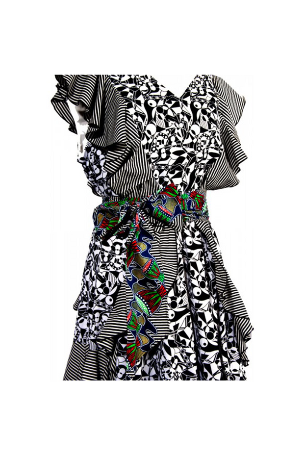 Chiwendu African Print Dress - Tiskies