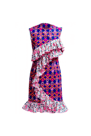 Ifeoma African Print Dress - Tiskies