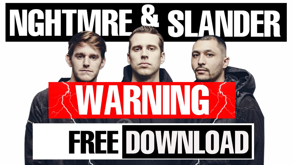 "NGHTMRE & Slander - ""Warning"" Serum Preset / Ableton FX Rack"