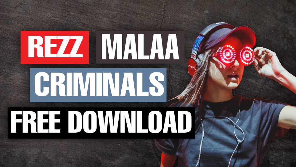 "Rezz $ Malaa - ""Criminals"" Serum Preset & Ableton Rack"