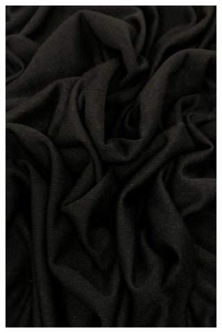 BLACK Cotton Jersey