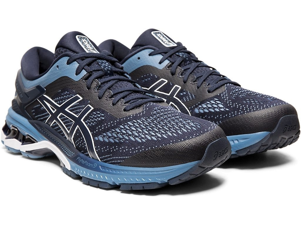 Asics Gel Kayano 26 Running Shoes Mens Large Sizes